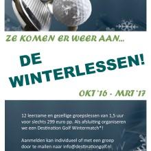 Winterlessen 2016-2017